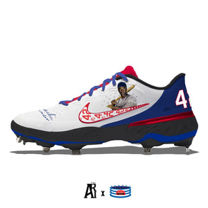 """Jackie"" Nike Alpha Huarache Elite 3 Low Cleats"