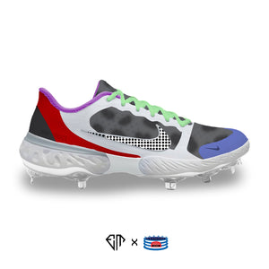 """Kobe PJ Tuck"" Nike Alpha Huarache Elite 3 Low Cleats"