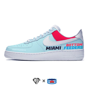 """Miami Bottom Feeders"" Nike Air Force 1 Low"