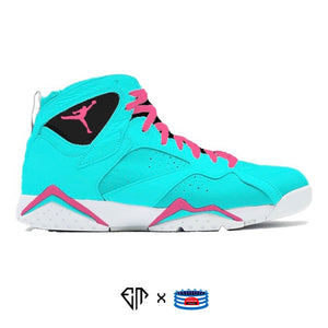 """Miami Vice"" Jordan 7 Retro Shoes"