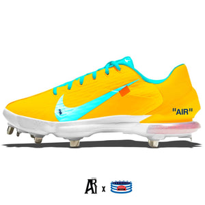 """Neon Hype"" Nike Force Zoom Trout 7 Pro Cleats"