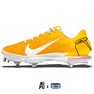 """Orange Soda"" Nike Force Zoom Trout 7 Pro Cleats"