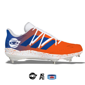 """Pitching Ninja- Amazins"" Adidas Afterburner 7 Cleats"