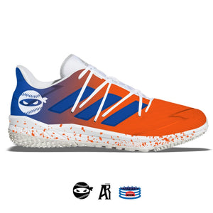"""Pitching Ninja- Amazins"" Adidas Afterburner Turf Shoes"