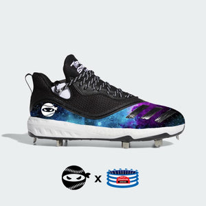 """Pitching Ninja- Galaxy"" Adidas Icon V Cleats"
