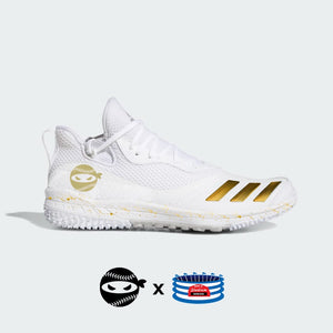"""Pitching Ninja"" Adidas Icon V Turf Shoes"