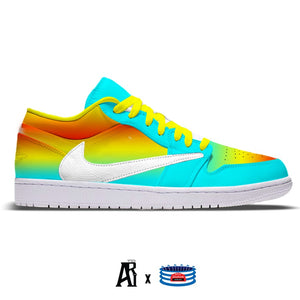 """Rainbow Ice CJ"" Jordan 1 Low"