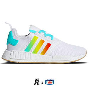 """Tequila Sunrise"" Adidas NMD R1 Casual Shoes"