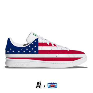 """USA"" Adidas Stan Smith Casual Shoes"