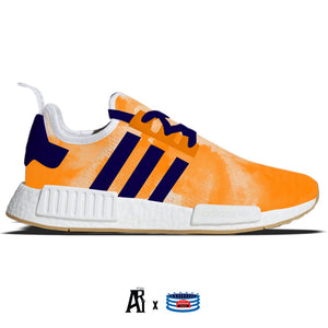 """Watercolor"" Adidas NMD R1 Casual Shoes"