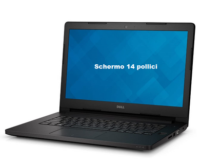 Notebook Dell Latitude E3470 14 Pollici Ram 8GB 500GB Windows 10 Pro Ricondizionato