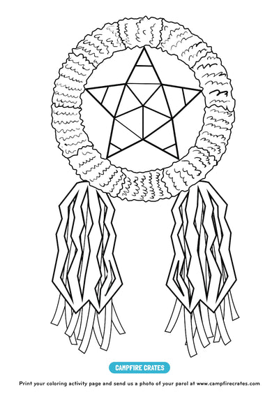 FREE PRINTABLES: Parol Colouring Sheets