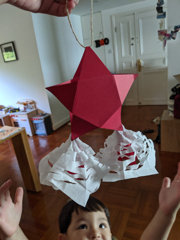 Christmas Parol Lantern Craft