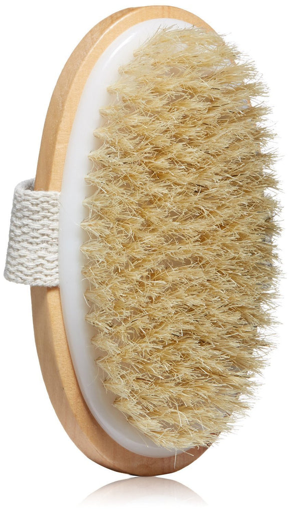 Dry Skin Body Brush - Improves Skin's Health and Beauty - Natural Bristle