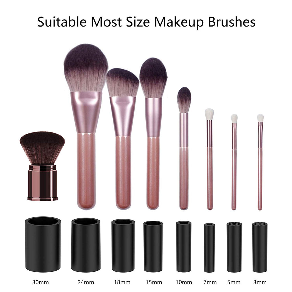 Makeup Brushes Cleaner and Dryer, Electric Makeup Brush Cleaner Dry (Black)