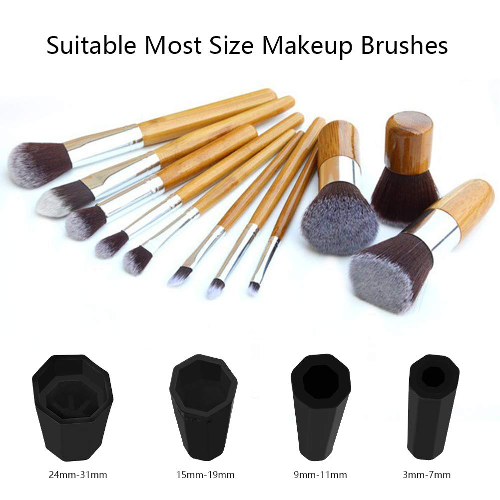 Rechargeable Makeup Brushes Cleaner and Dryer, Electric Makeup Brush Cleaner Dry