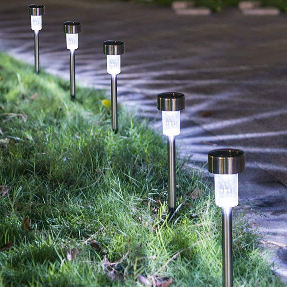 Outdoor [16pack]-Solar Powered Pathway Bright White-Landscape Light