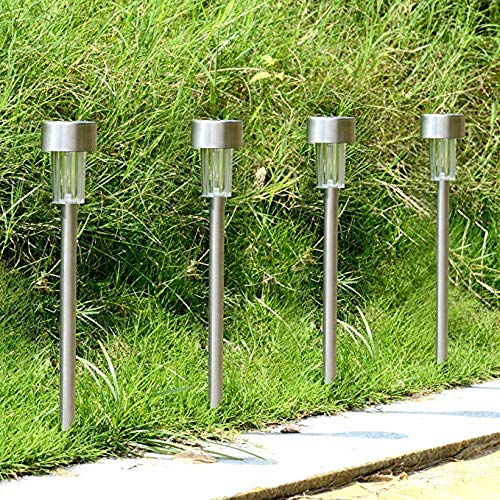 Solar Pathway [12pack] Waterproof Outdoor Garden Sunlight Powered Bright White