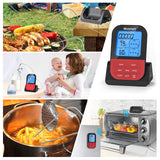 Wireless Remote Meat Thermometer,Blusmart Digital Cooking Food Thermometer
