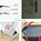 Lunch Bag for Women,Lunch Holder Insulated Lunch Tote Bag Lunch Cooler Box