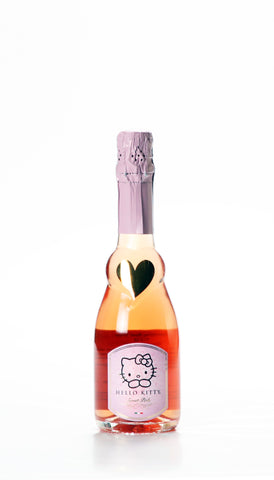 Italian sparkling wine - Hello Kitty Rose' Sweet Champagne Lombardia