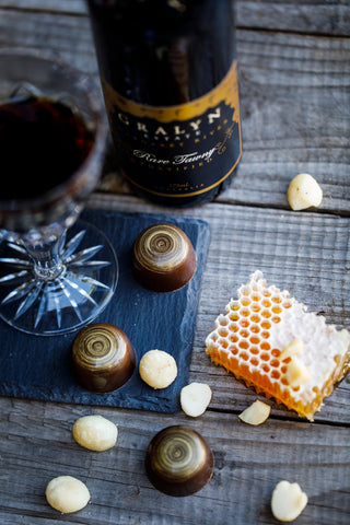 Gralyn Estate Rare Tawny + Honey Macadamia Bon Bons