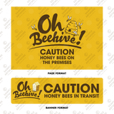 Beehive Warning Signs