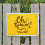 Beehive Warning Sign