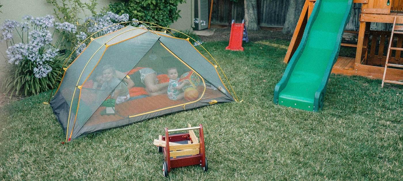 Camp in the Backyard