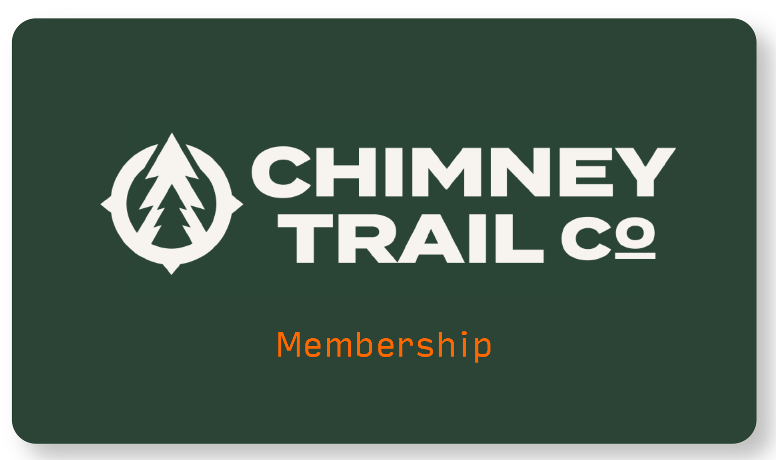 Chimney Trail Monthly Membership