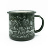National Parks Iconic Enamel Mug