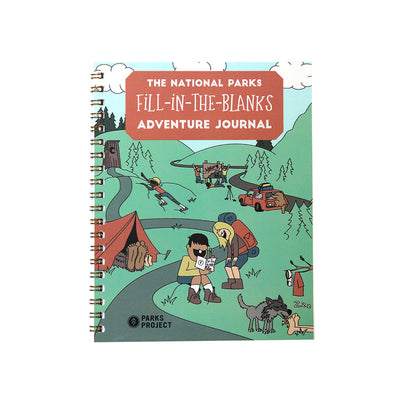 National Parks Fill In The Blanks Adventure Journal