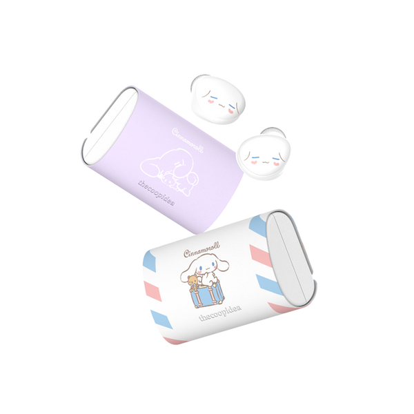 Sanrio BEANS+ True Wireless Earbuds - Cinamoroll