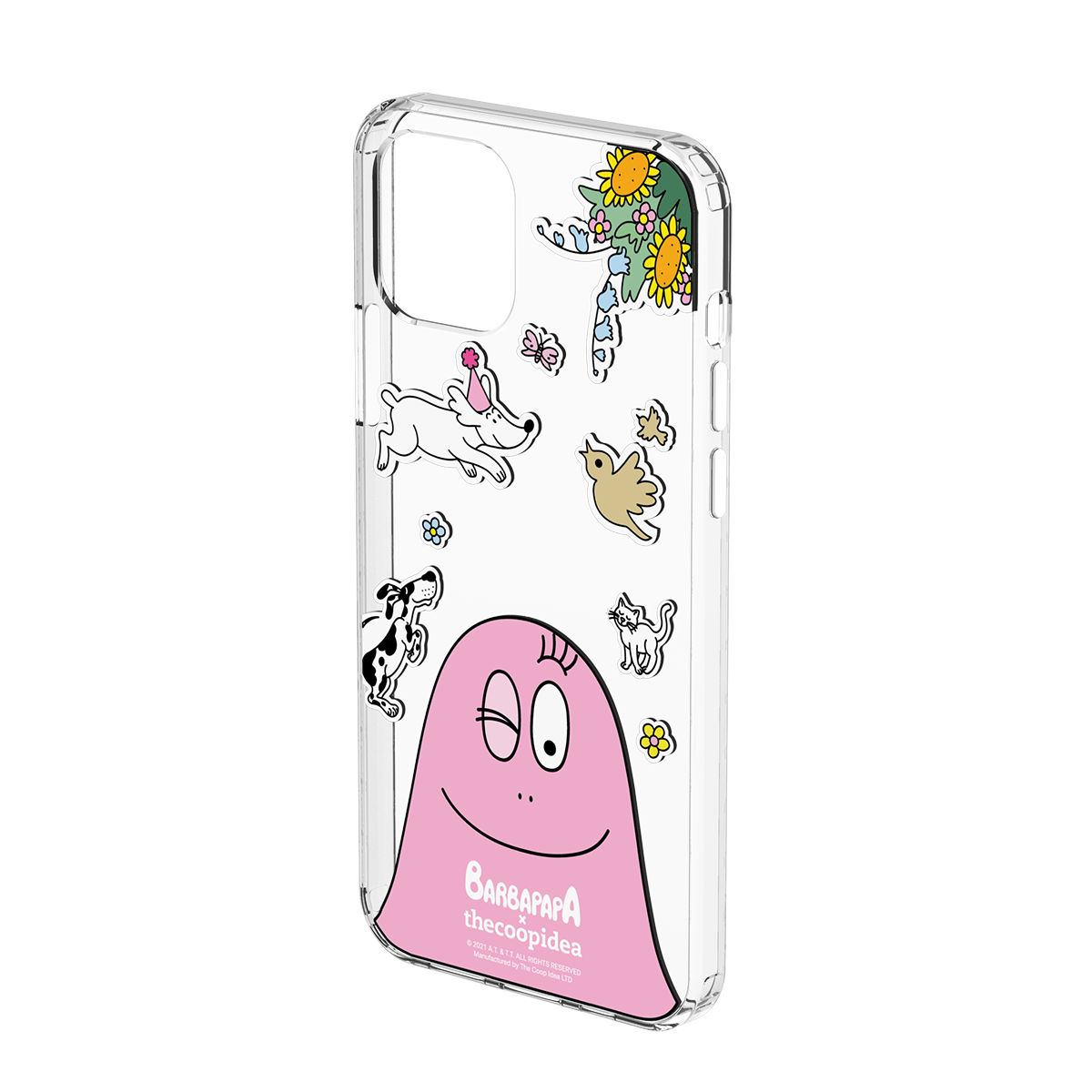 CANVAS iPhone 12/12 Pro Case - BARBAPAPA