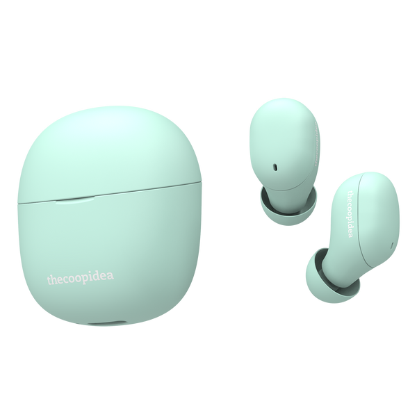 thecoopidea BEANS AIR True Wireless Earbuds - Turquoise