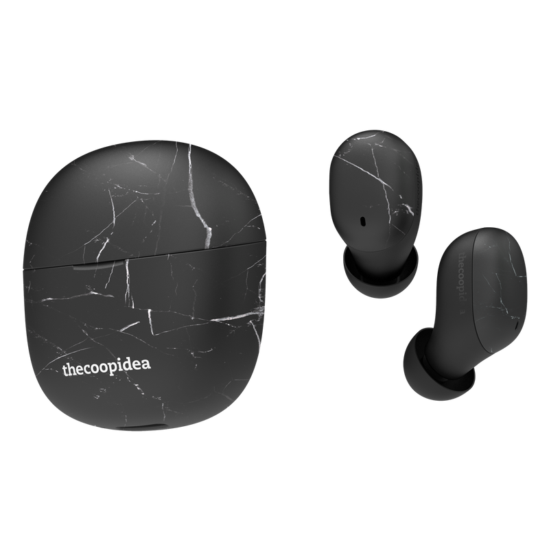 thecoopidea BEANS AIR True Wireless Earbuds - BlackMarble