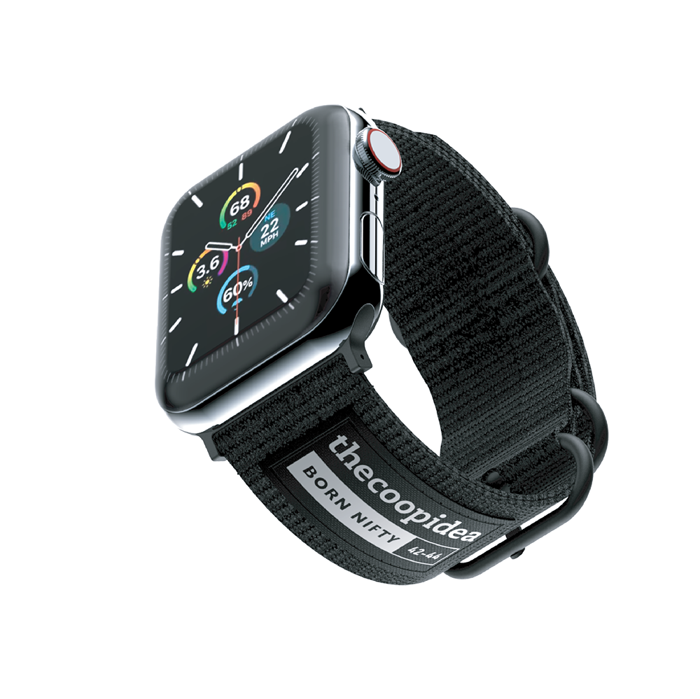 thecoopidea - BELT - Durable Nato Apple Watch Straps - Black