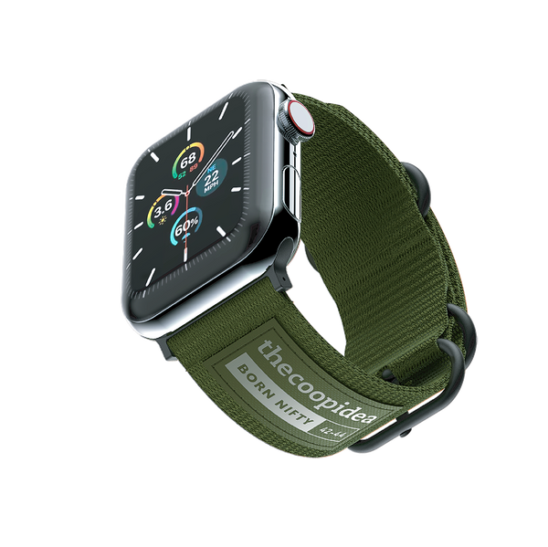 thecoopidea - BELT - Durable Nato Apple Watch Straps - Green