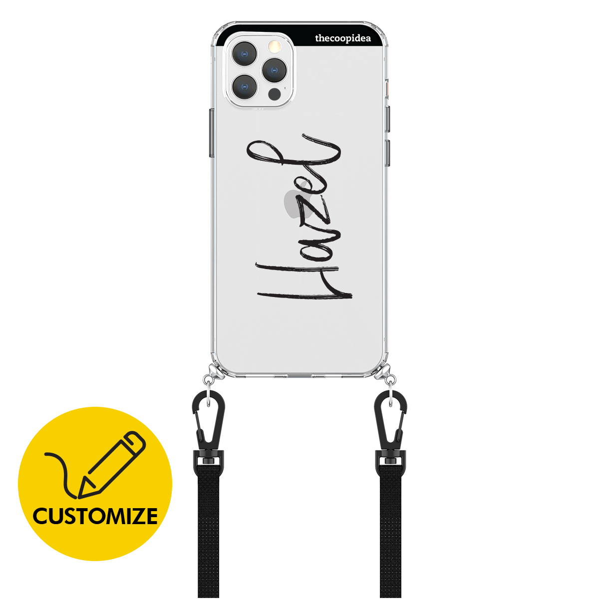 Customize CANVAS iPhone 12/12  Pro Case - Script