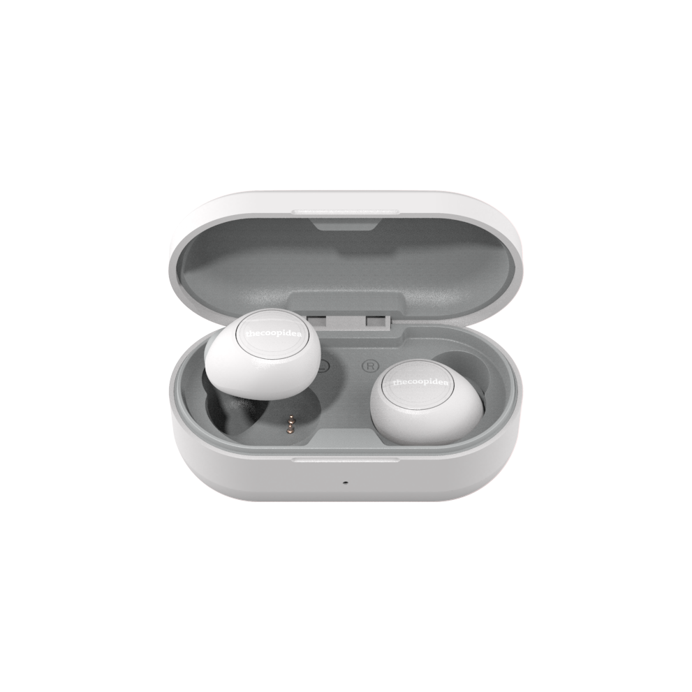 thecoopidea - CANDY True Wireless Earbuds - LightGrey