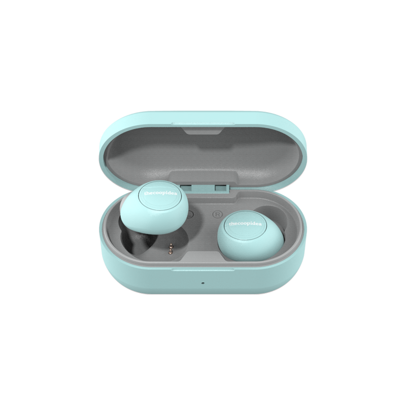 thecoopidea - CANDY True Wireless Earbuds - Turquoise