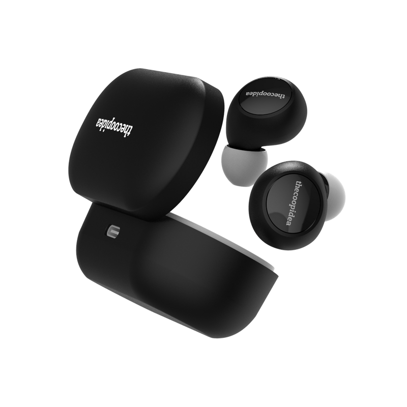 thecoopidea - CANDY True Wireless Earbuds - MatteBlack