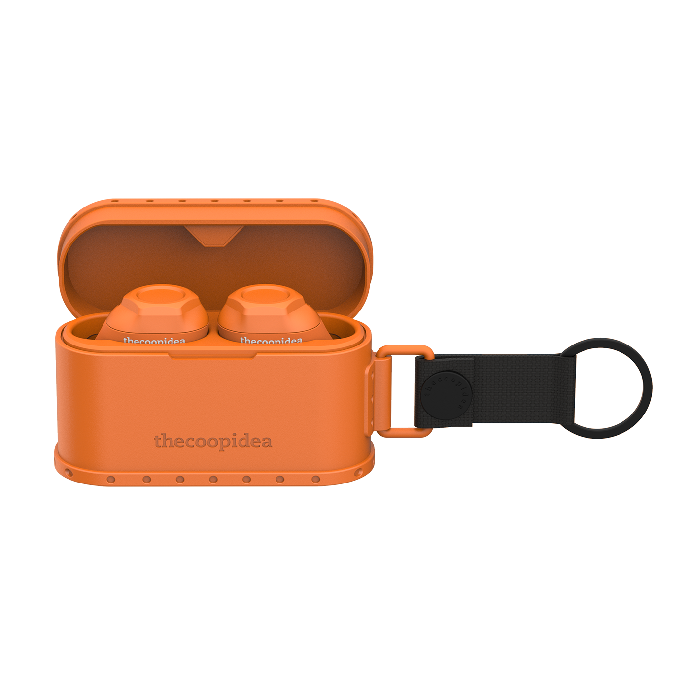 thecoopidea - CARGO 02 True Wireless Earbuds- Tangerine