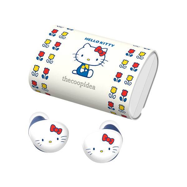 Sanrio BEANS+ True Wireless Earbuds - Hello Kitty