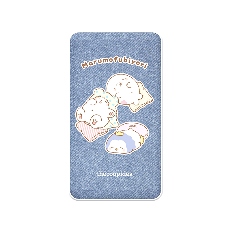 thecoopidea - Sanrio Wireless Charging 6000mAh Powerbank  - Marumofubiyori