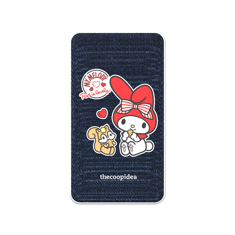 thecoopidea - Sanrio Wireless Charging 6000mAh Powerbank  - My Melody