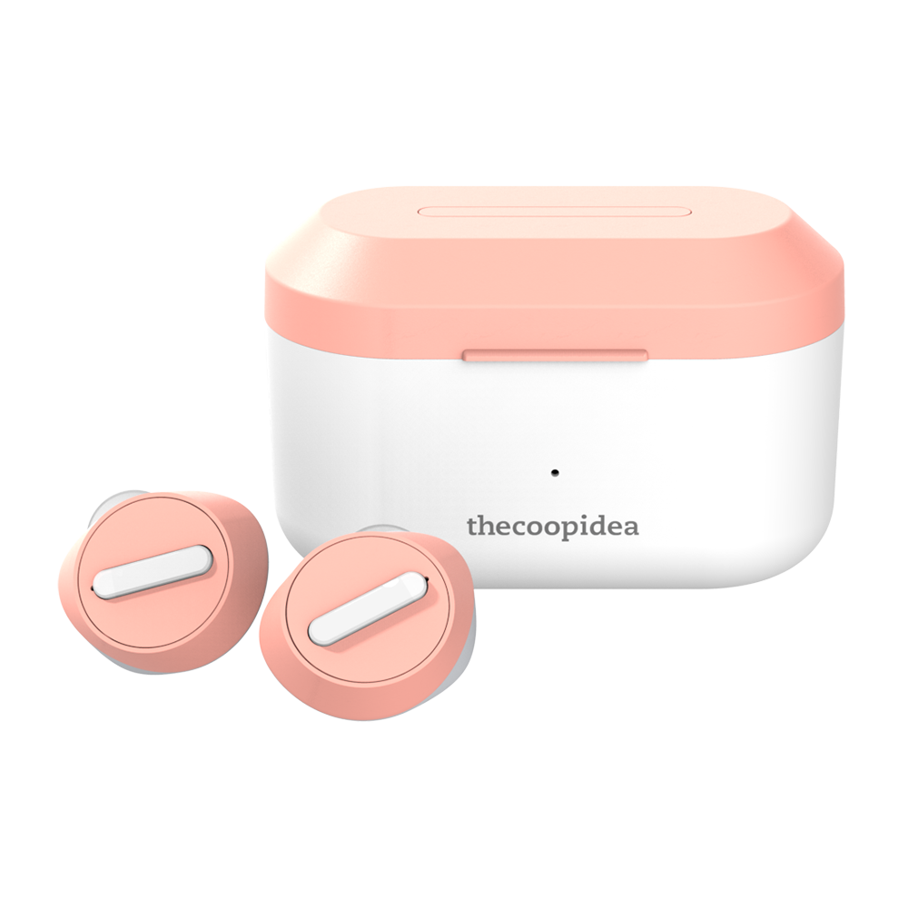 thecoopidea - BEANS PRO ACTIVE True Wireless Earbuds - VelvetPink