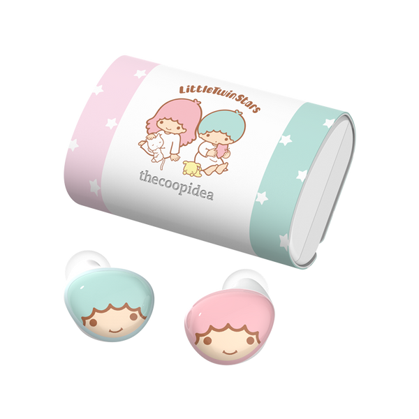 Sanrio BEANS+ True Wireless Earbuds - Little Twin Stars