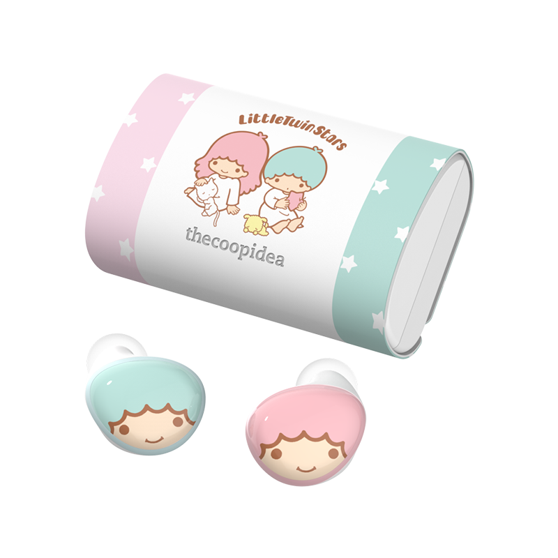 thecoopidea - Sanrio BEANS+ True Wireless Earbuds - Little Twin Stars