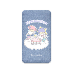 thecoopidea - Sanrio Wireless Charging 6000mAh Powerbank  - Little Twin Stars
